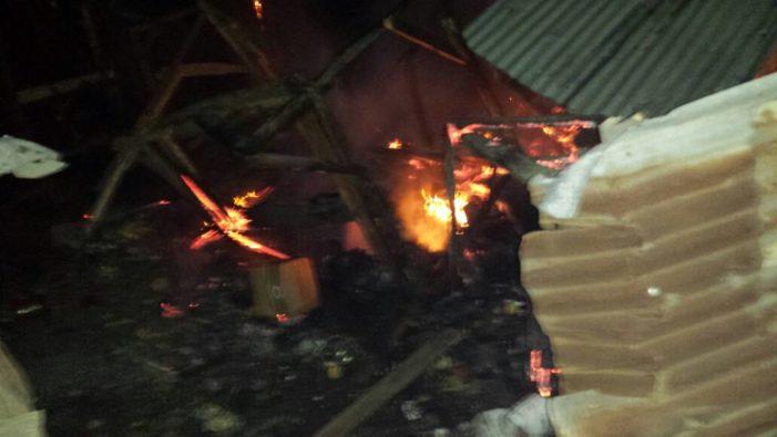 Début d'incendie au Marché Tabernacle au Cap-Haitien