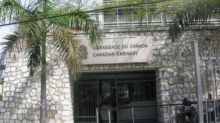 1,7 million de dollars détournés à l'ambassade du Canada