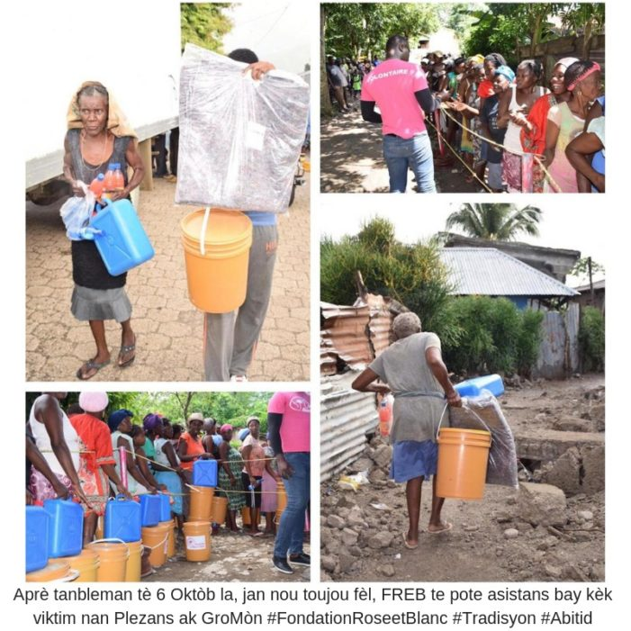 Haiti-Seisme: La Fondation Rose et Blanc toujours fidèle