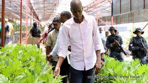 Haiti-Banque de développement agricole: Jovenel Moise passe de la parole aux actes