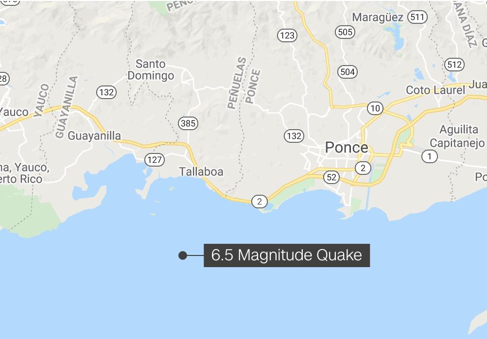 Nouveaux tremblements de terre dans la mer des Caraibes