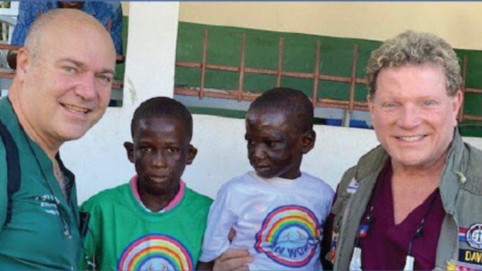 Haiti / Israël: Support au soin des brûlures d'enfants en Haïti par le laser