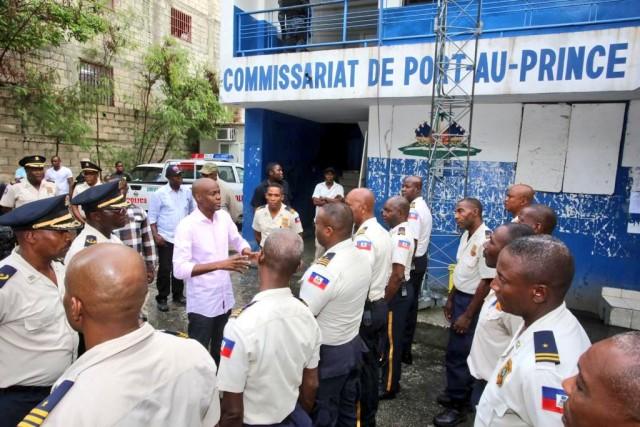 Haiti-Police: La présidence prône une prise en compte des revendications