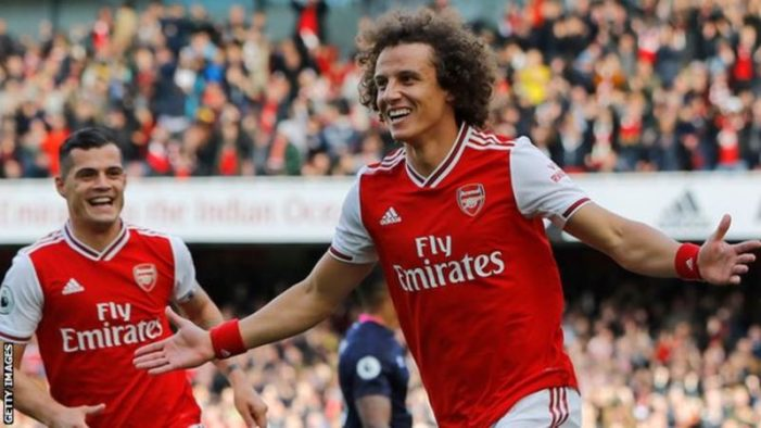 David Luiz: Je ne m'arrêterai pas tant que l'Arsenal n'aura pas réussi et que des trophées soient obtenus cette saison