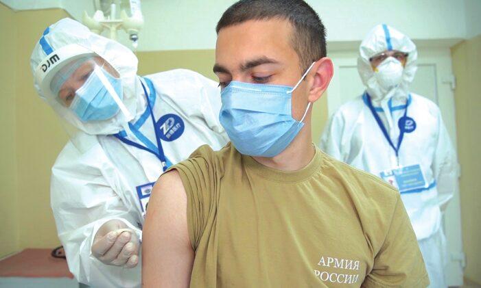 Covid-19: La Russie lance sa campagne de vaccination massive