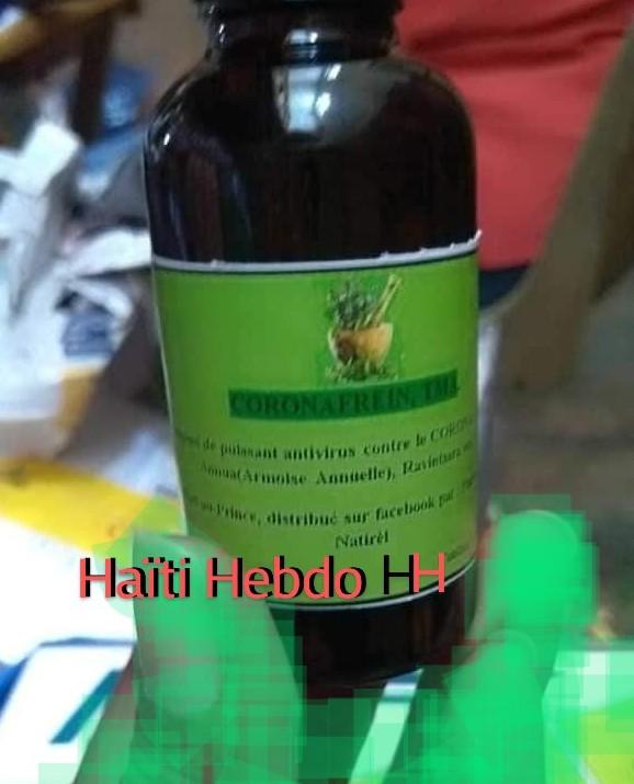 Haïti/Corona-Frein:   Le naturopathe Jacceus Joseph aurait le vrai remède contre le Coronavirus,