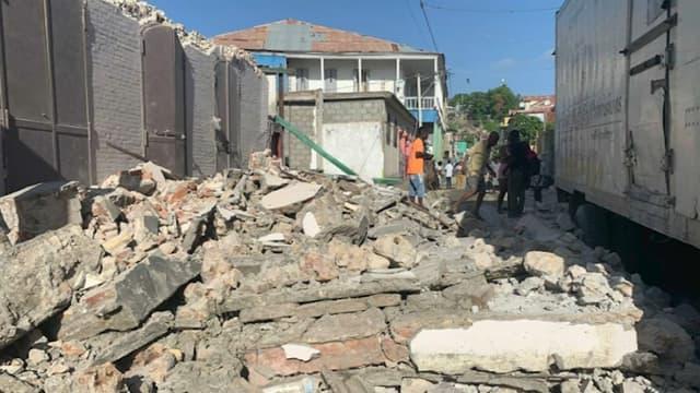 Haiti earthquake death toll close to 250