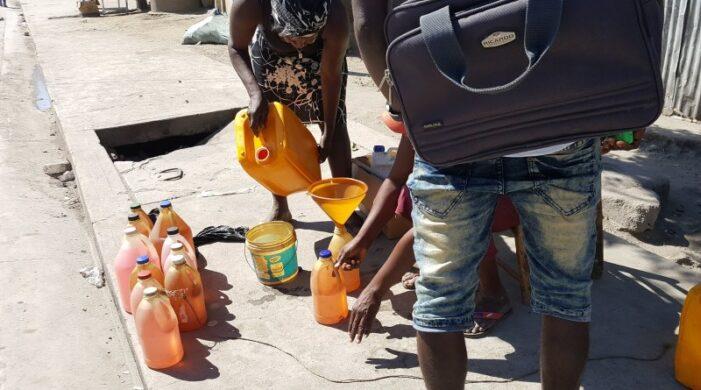 Interdiction de vente de la gazoline au marché noir à Port-au-Prince